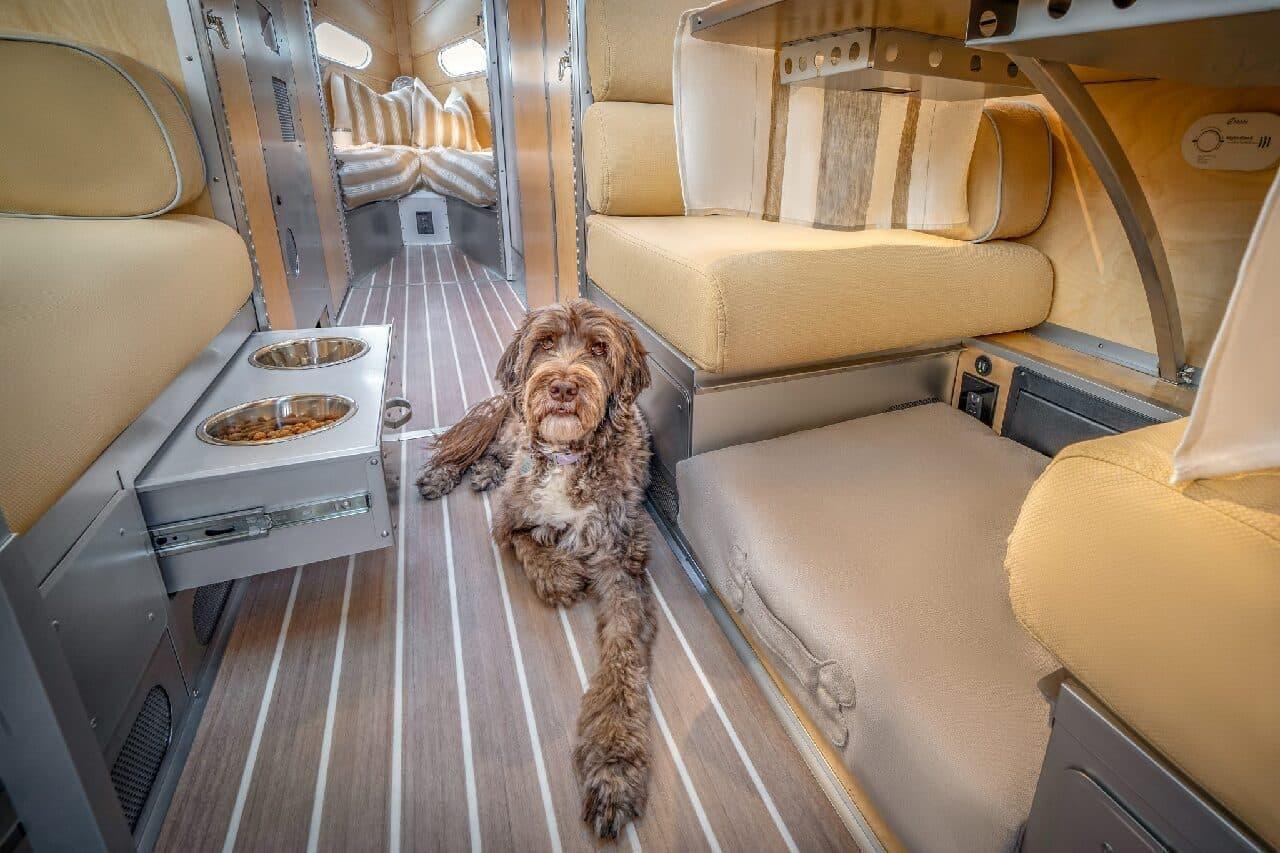 愛犬が喜ぶキャンピングトレーラー Bowlus「Terra Firma」