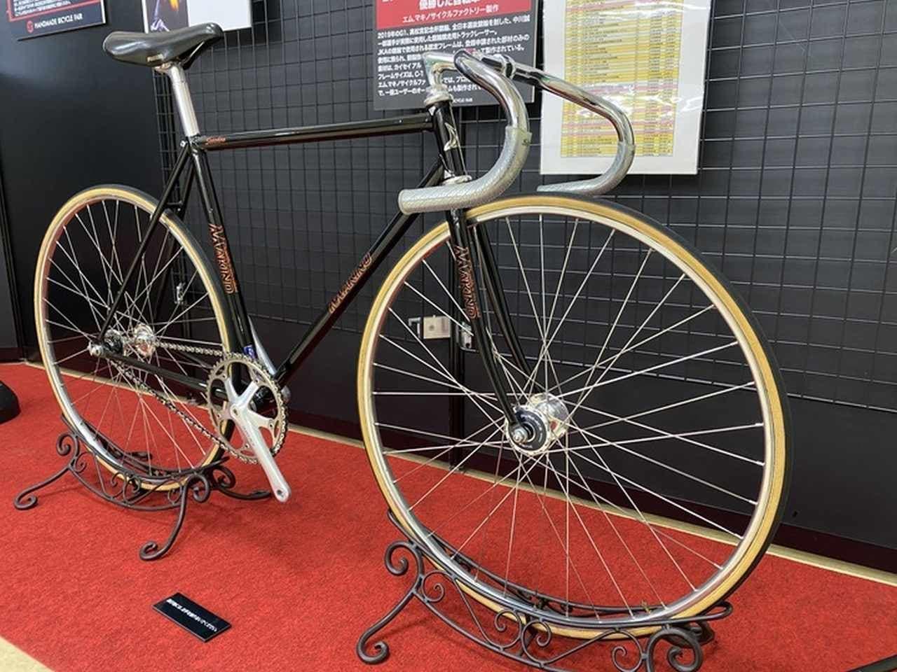 オーダーメイド自転車の展示会「ハンドメイドバイシクル展」