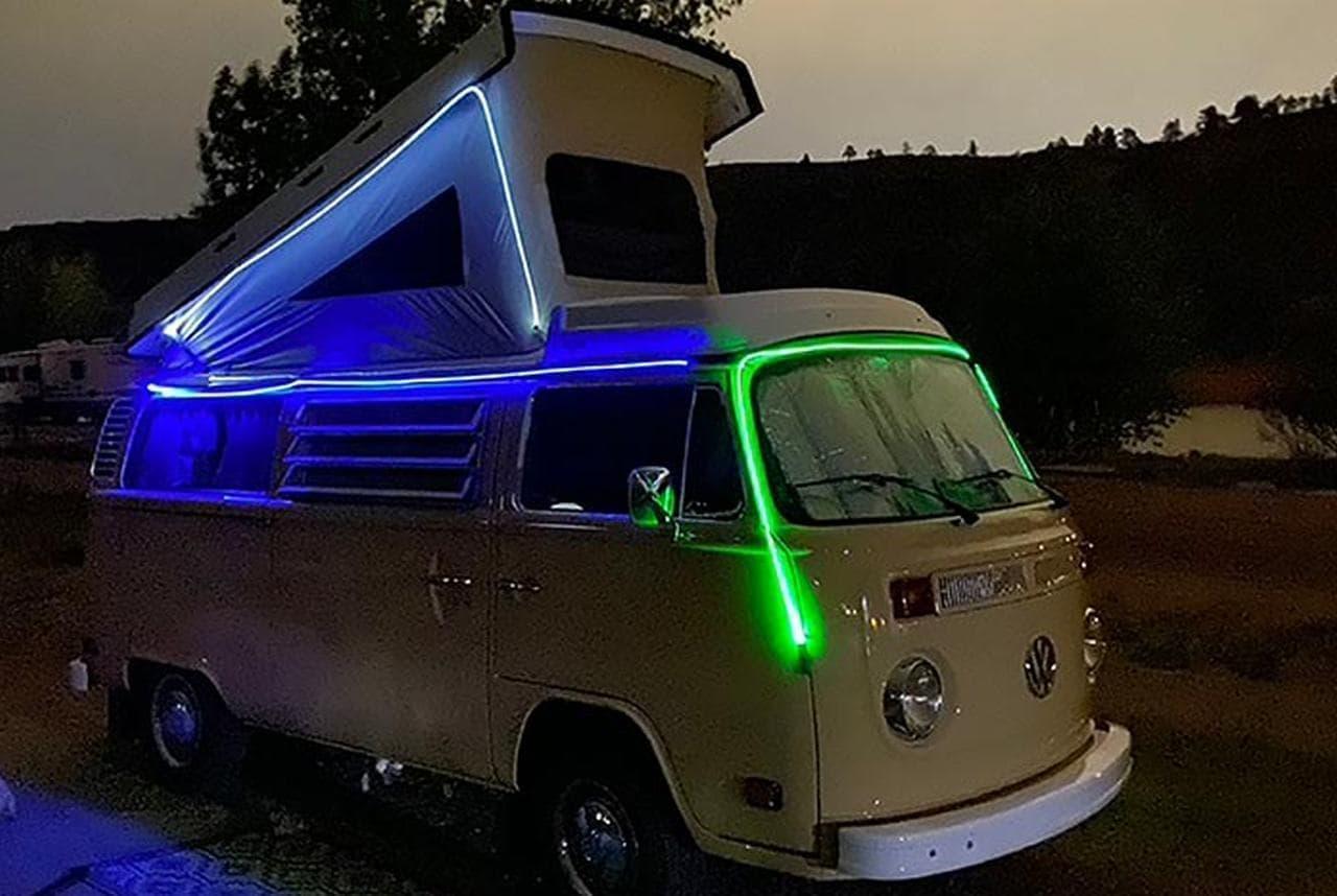 キャンプを楽しくするストリングライト「Radiant ShineLine」