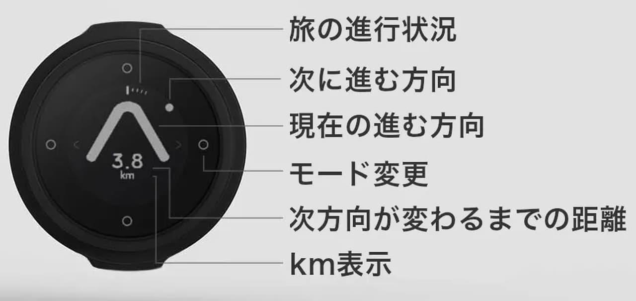 新色イエロー登場 ざっくりした自転車用ナビ「コンパス型ナビゲーター【Beeline Velo】」販売開始