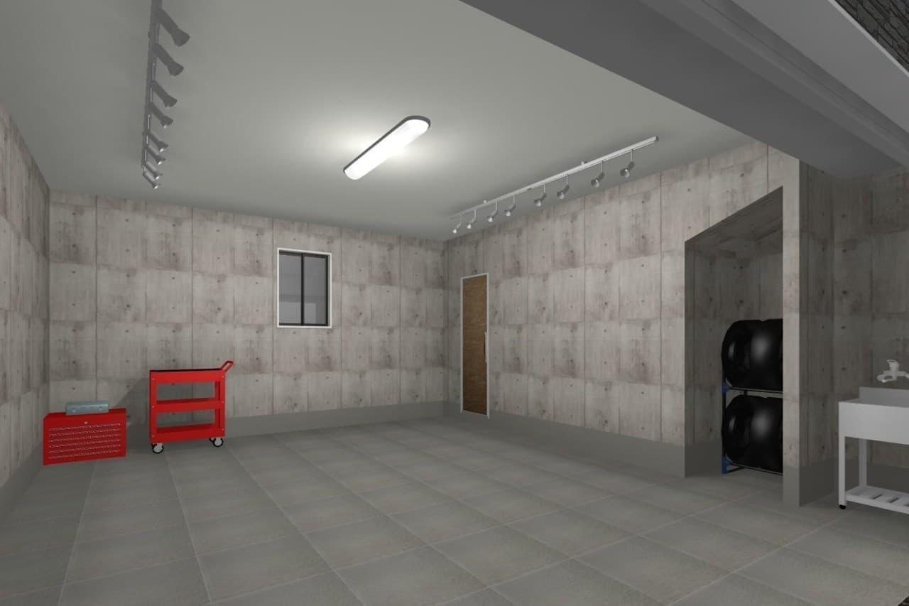 一階は18.9帖のガレージ!クルマ好きのための賃貸住宅「BACSPOT朝霞」