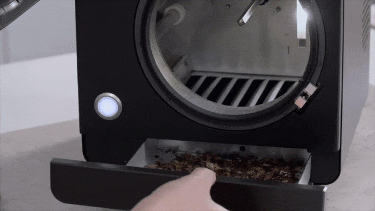 浅煎り・深煎り自由自在スマート珈琲焙煎機「Sandbox Smart Roaster」