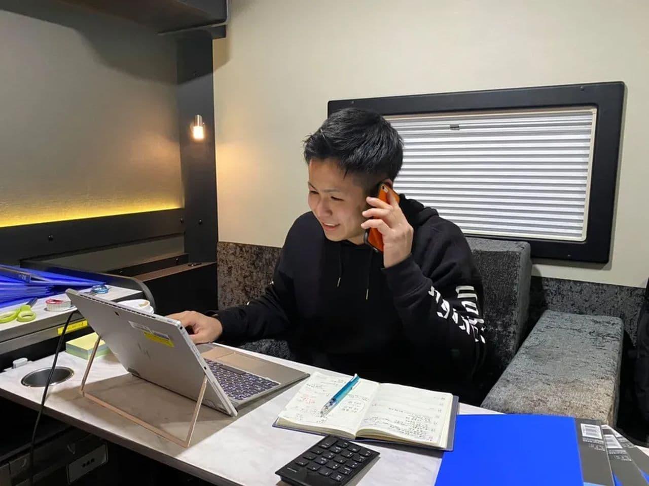 キャンピングカーでテレワーク いまだけ無料 ― 1時間から予約できる「モバイル・オフィス」実証実験を京急電鉄遊休地で実施