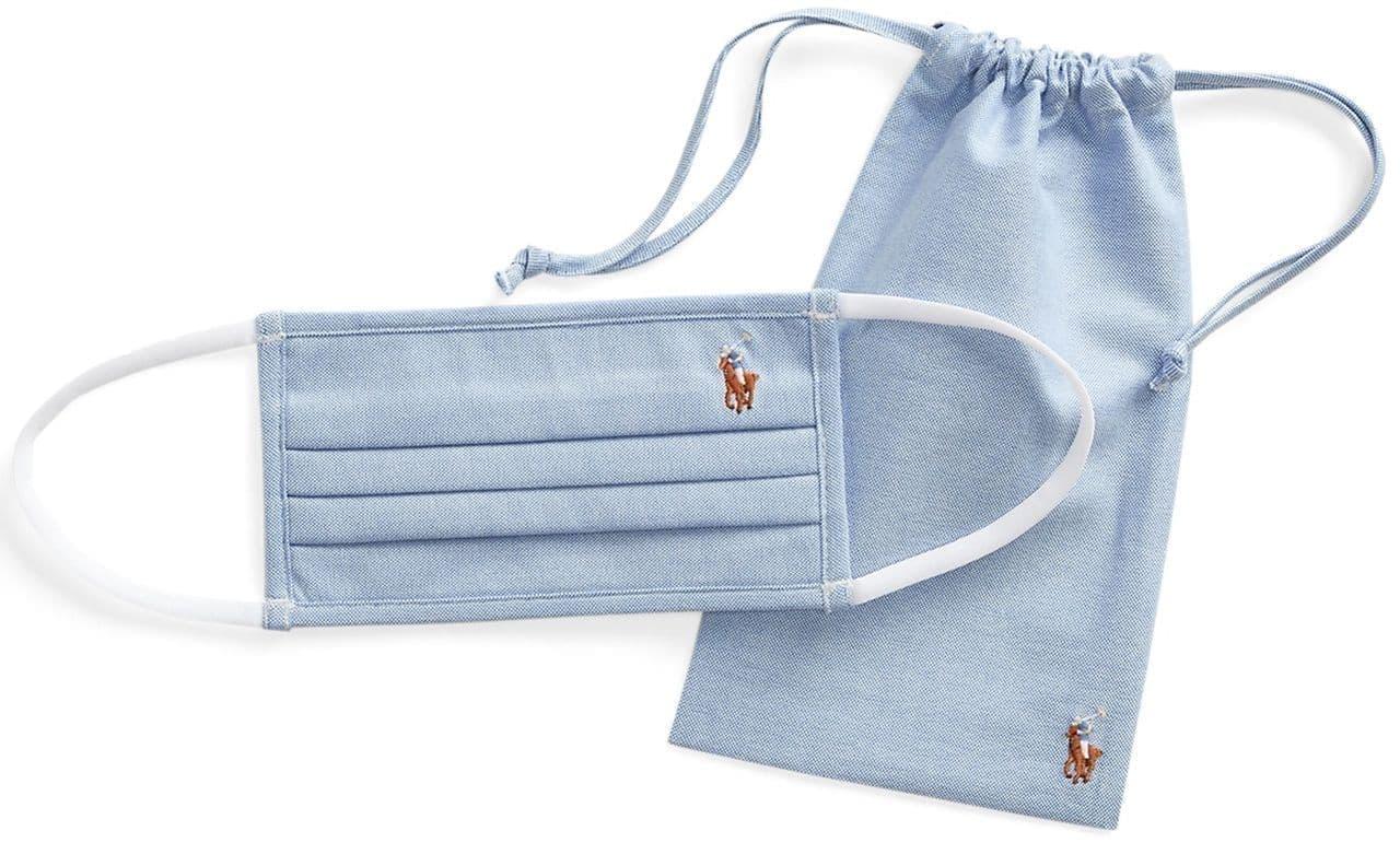 ラルフローレンのシャツ素材マスク「Poloクロスマスク」新デザイン