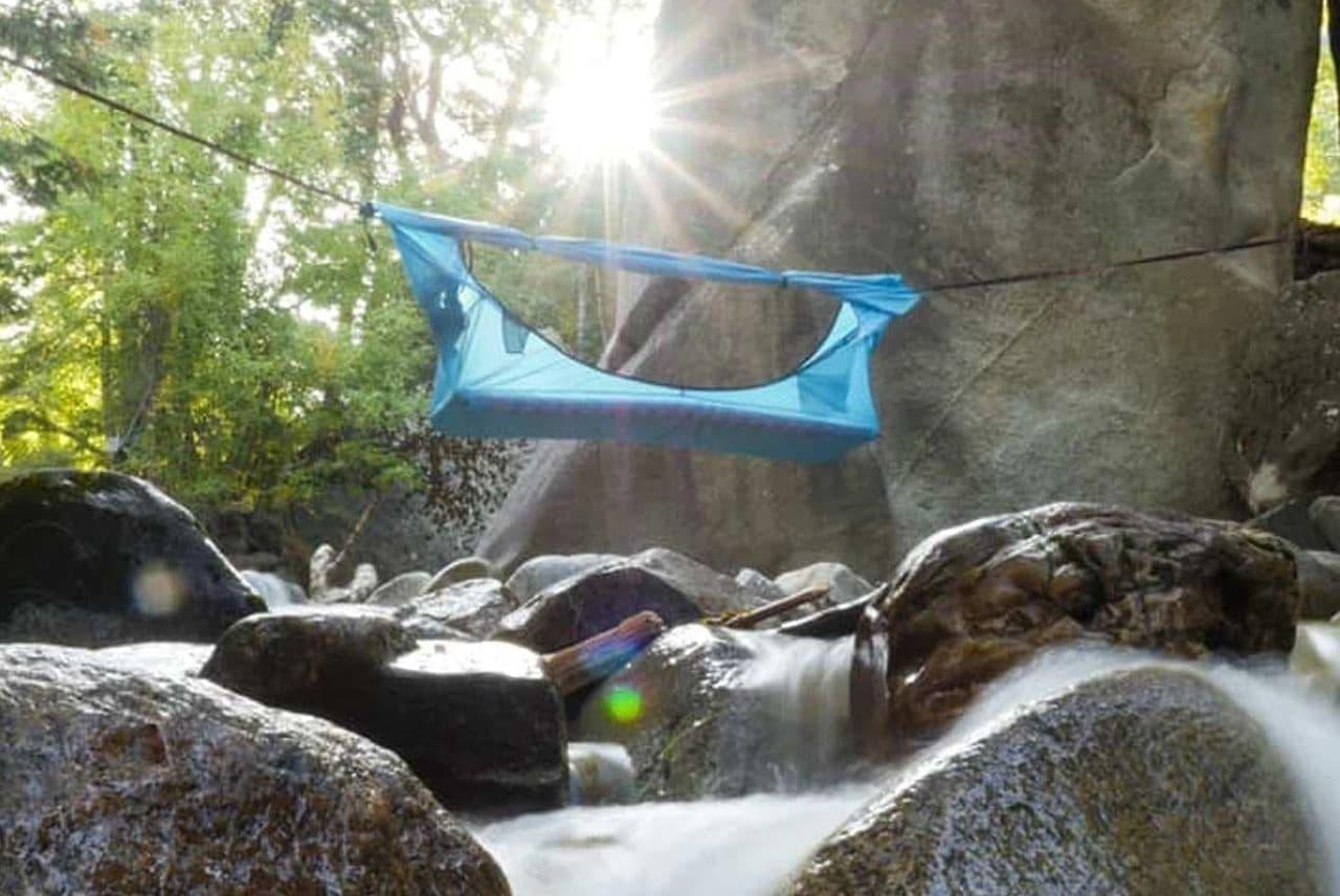 ハンモック型テント「ヘブンテント」