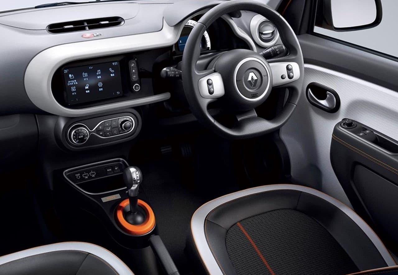 ルノー「トゥインゴ」にオレンジが映える特別仕様車「バイブス」