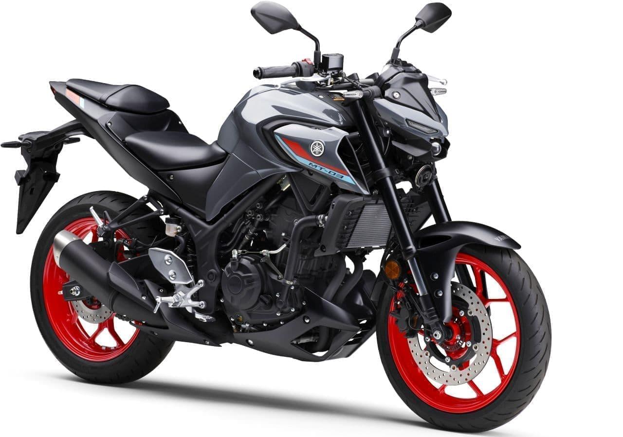 ヤマハ「MT-03 ABS」「MT-25 ABS」 2021年モデル発売