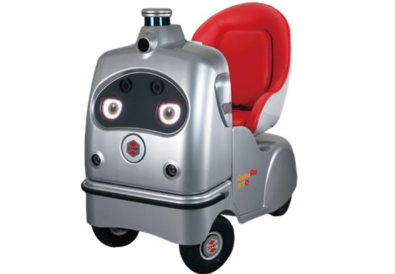 奈良公園にキュートな一人乗りロボ(自動運転車)登場 2月24日から実証実験開始