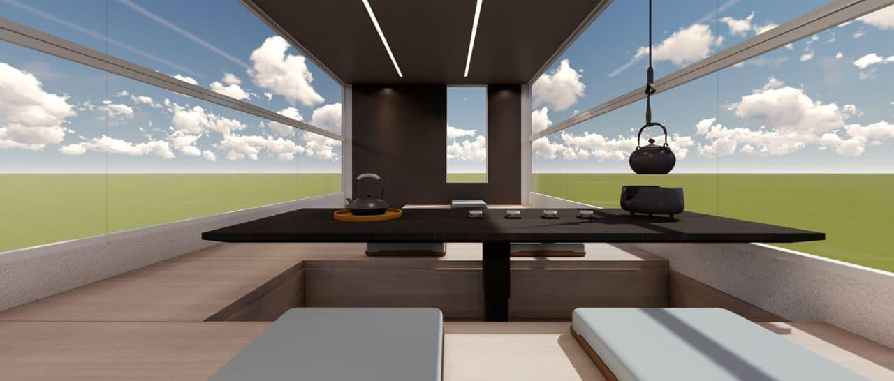 2階建てでエレベーターもついたキャンピングカー「Life Home V90 Villa Edition」