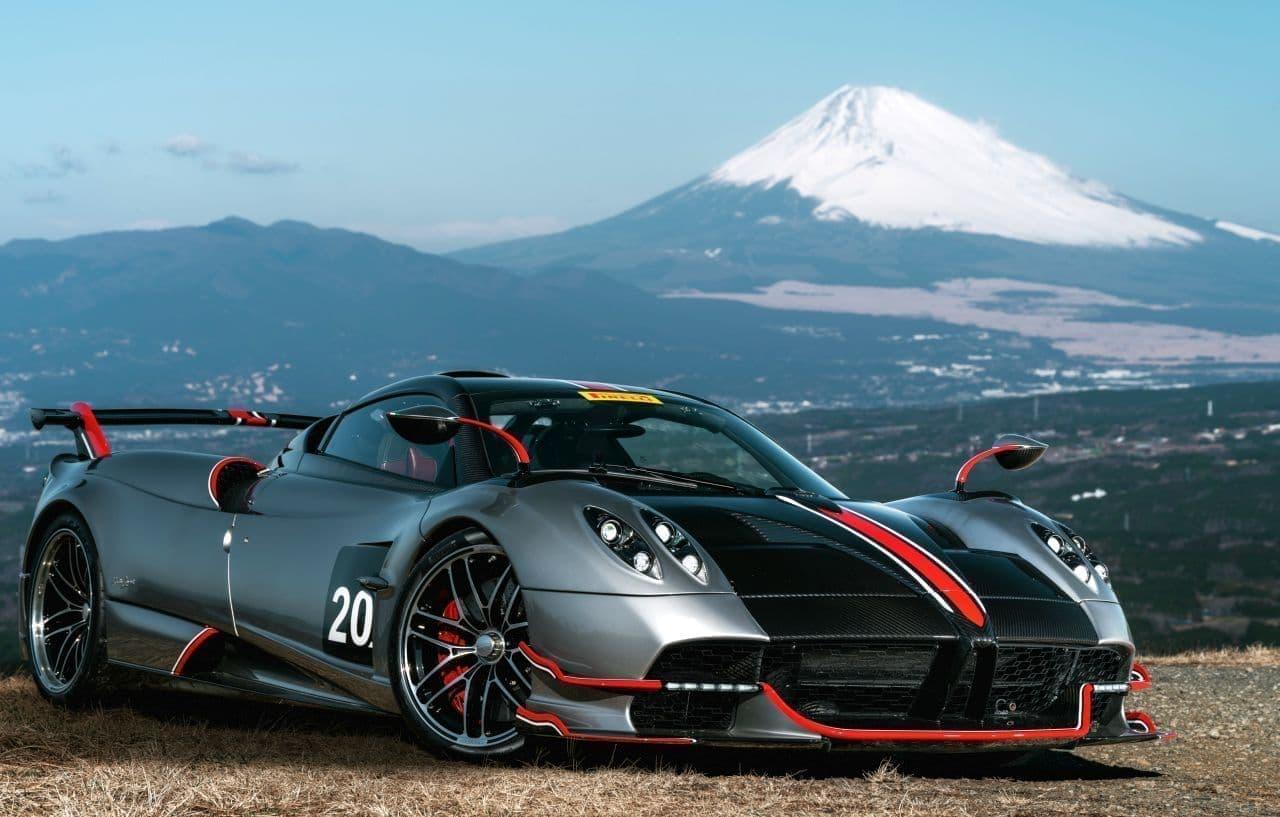 800馬力の6L V12ツインターボ搭載! パガーニ「ウアイラ・ロードスターBC」日本初上陸