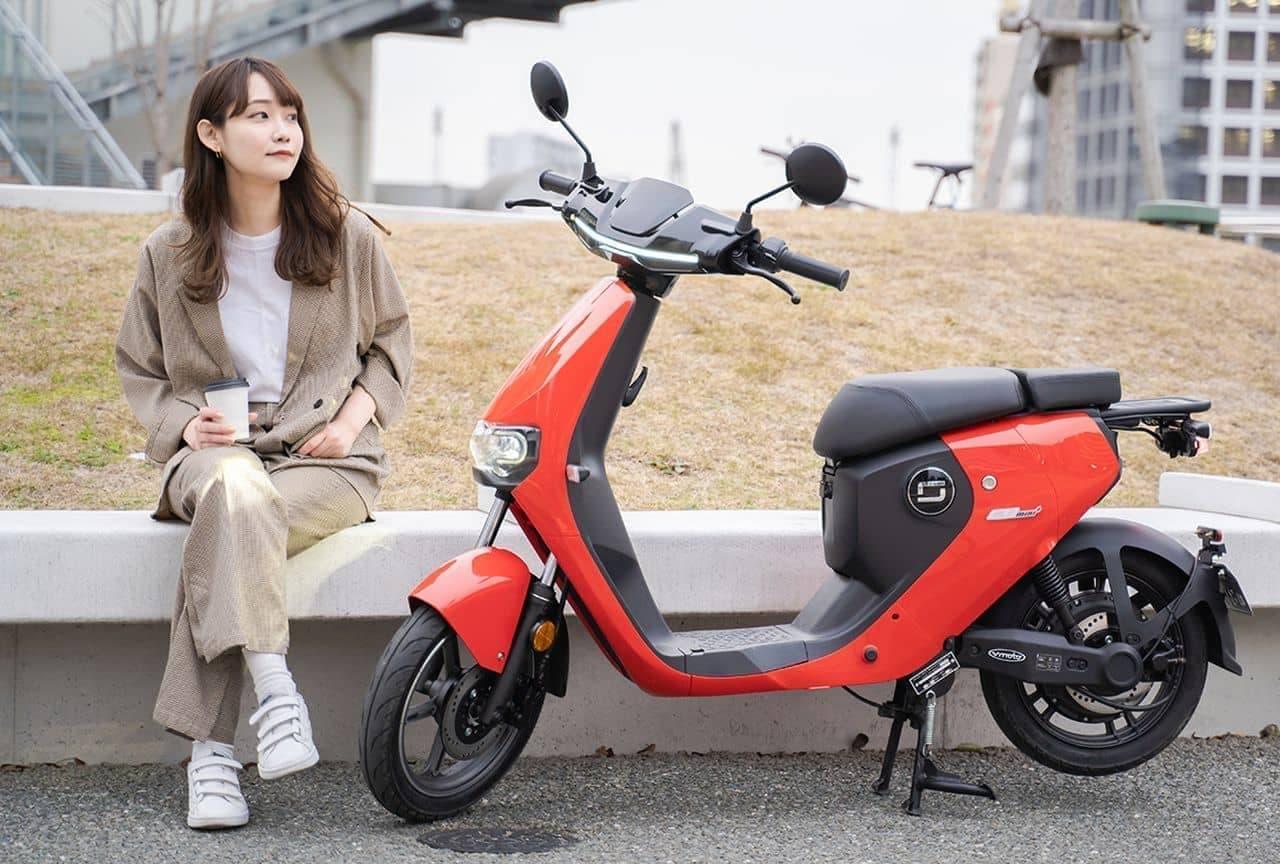 通勤・通学に便利な電動バイクSUPER SOCO「CUmini+」日本発売 ― 電動バイクブランドXEAMから