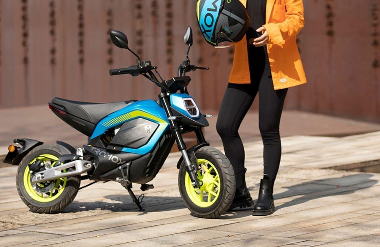 キュートな電動バイクTROMOX「MINO」日本発売