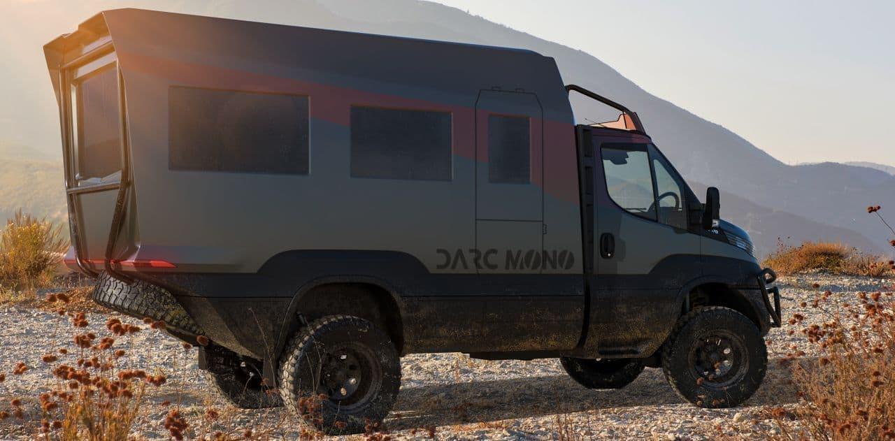 冒険とテレワークを両立するキャンピングカーDARC「MONO」