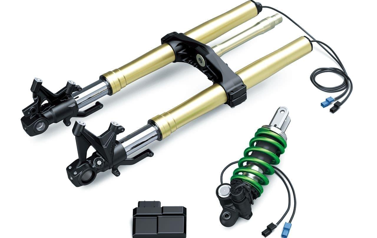 カワサキ「Z H2 SE」4月1日発売 ― カワサキ電子制御サスペンション「KECS」装備