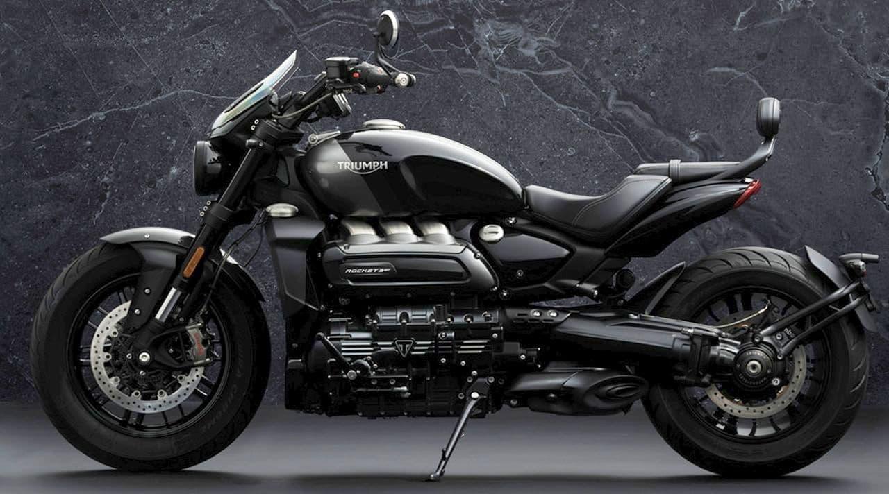 世界最大!排気量2,500ccエンジンを搭載したROCKET 3に「R Black」「GT Triple Black Limited Edition」