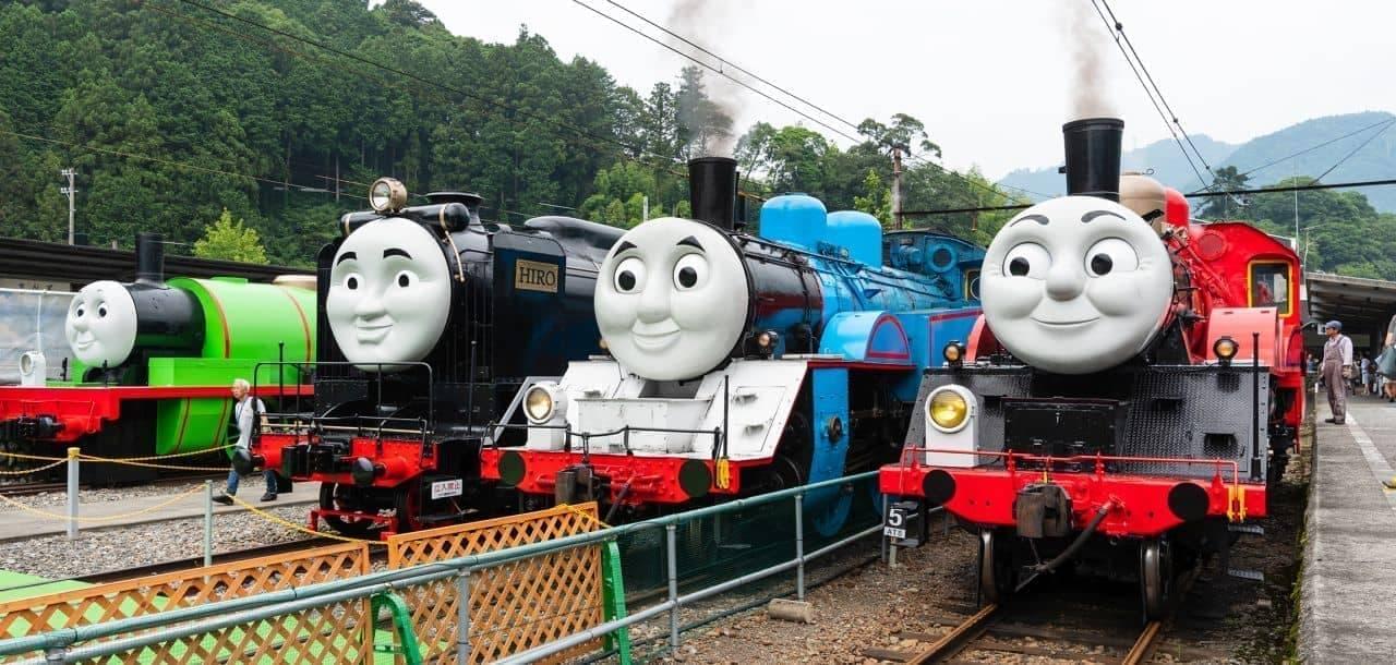 今年こそ「みどりのトーマス号」に会いたい! 「きかんしゃトーマス号」大井川鐵道で2021年も運行