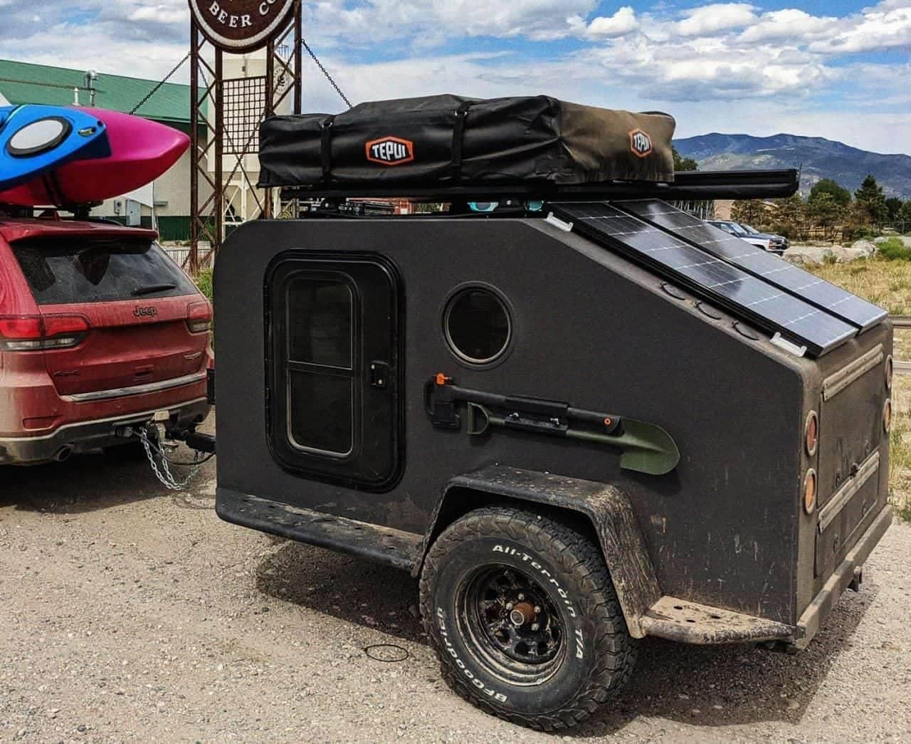 キャンピングトレーラーをオール電化 Campworksによる「NS-1」