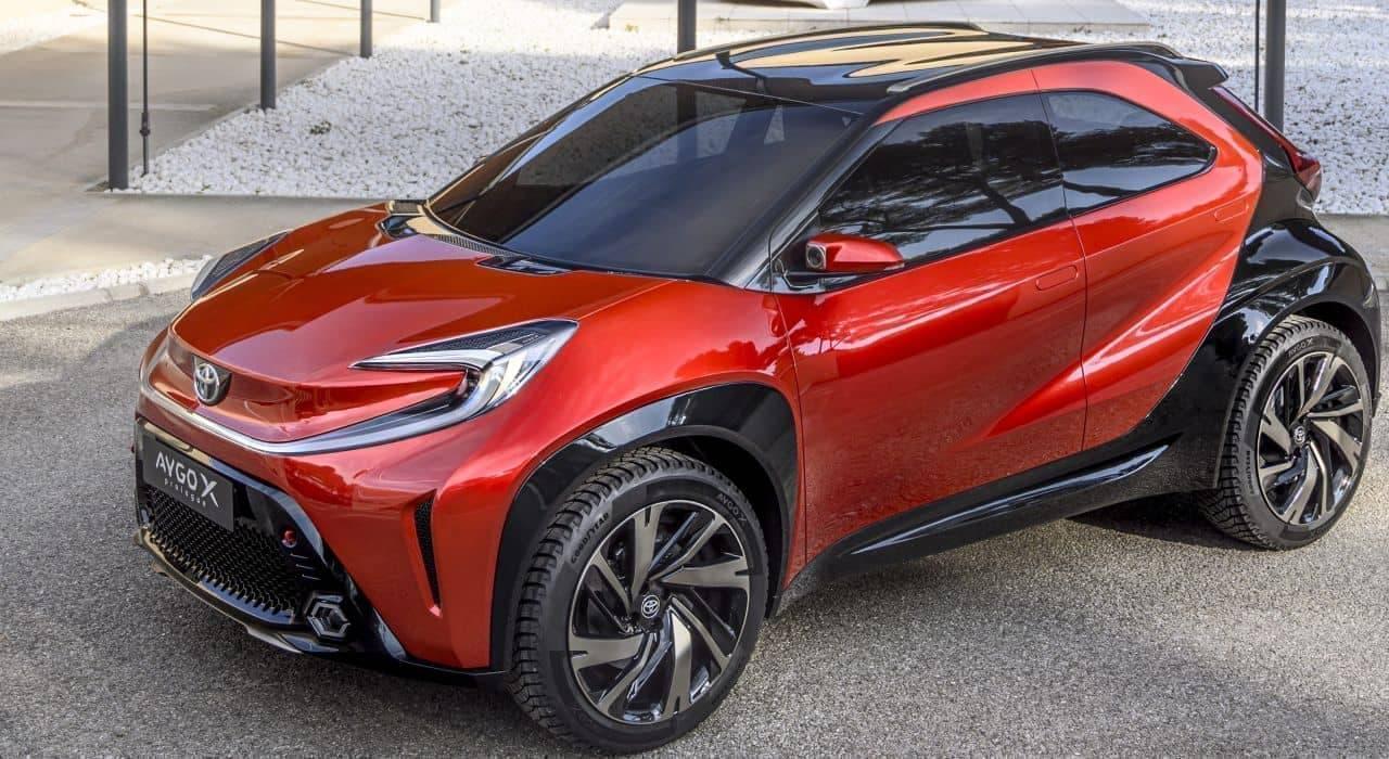 トヨタ「アイゴ X プロローグ」欧州で発表