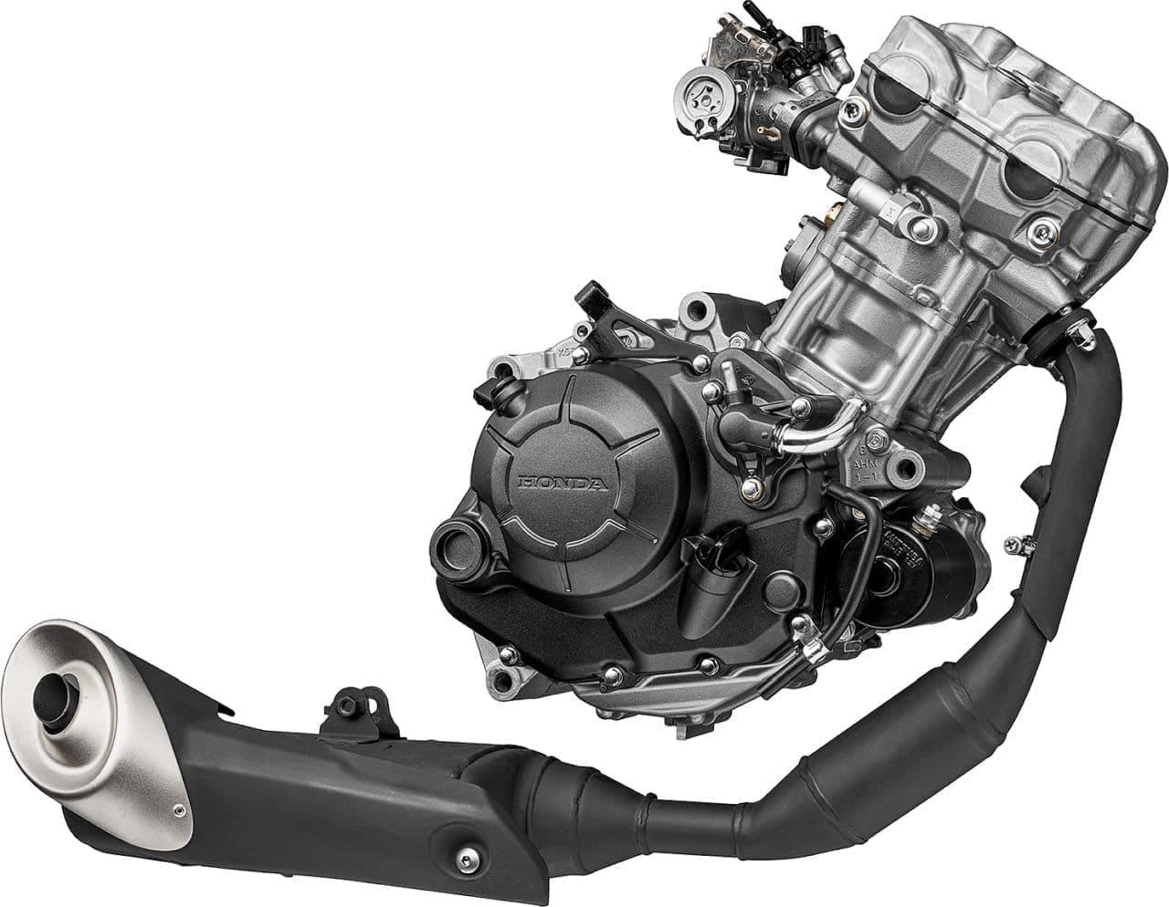 ホンダが「CB125R」にDOHCエンジンを搭載
