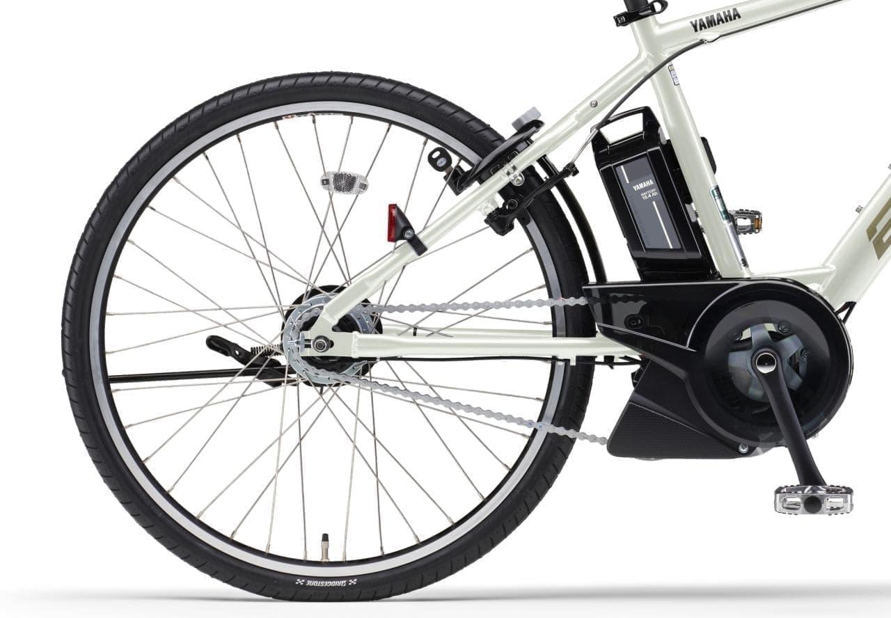 ヤマハの電動アシスト「PAS Brace」2021年モデル