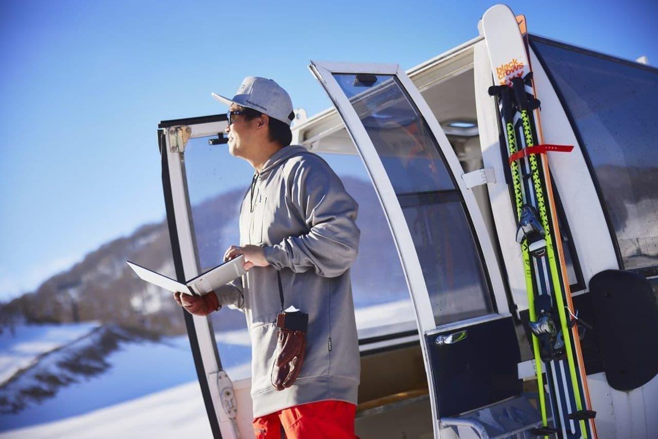 スキーをしながらテレワーク? 猫魔スキー場の「雪バカテレワーク」