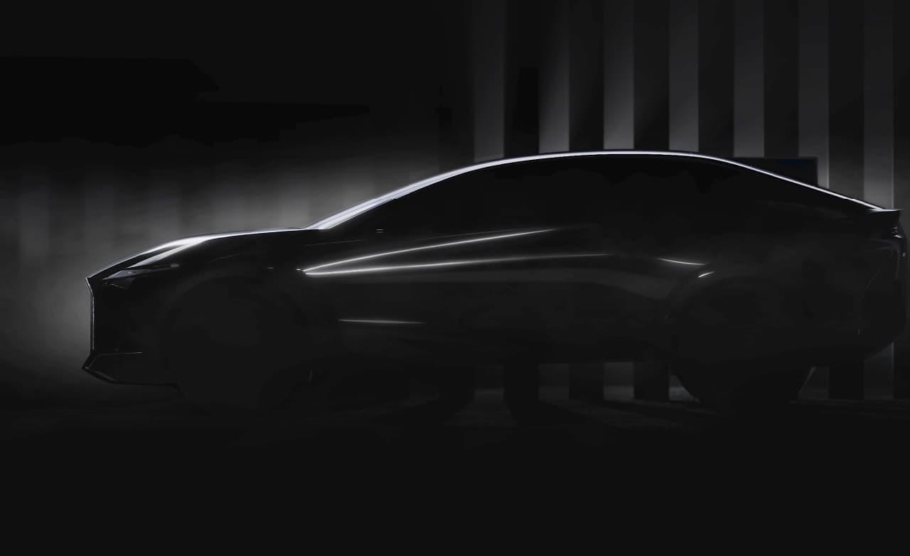 次世代LEXUSを象徴するコンセプトカーデザイン 公式Webサイトで一部公開