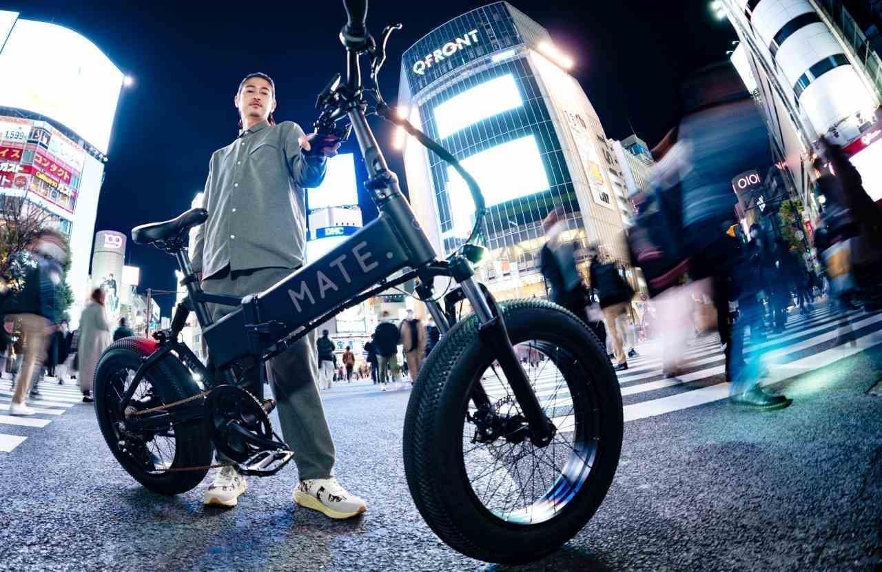 ファットタイヤを履いた電動アシスト自転車「MATE X 250」を販売 ― MATE. BIKEのフラッグシップストアが3月26日恵比寿にオープン