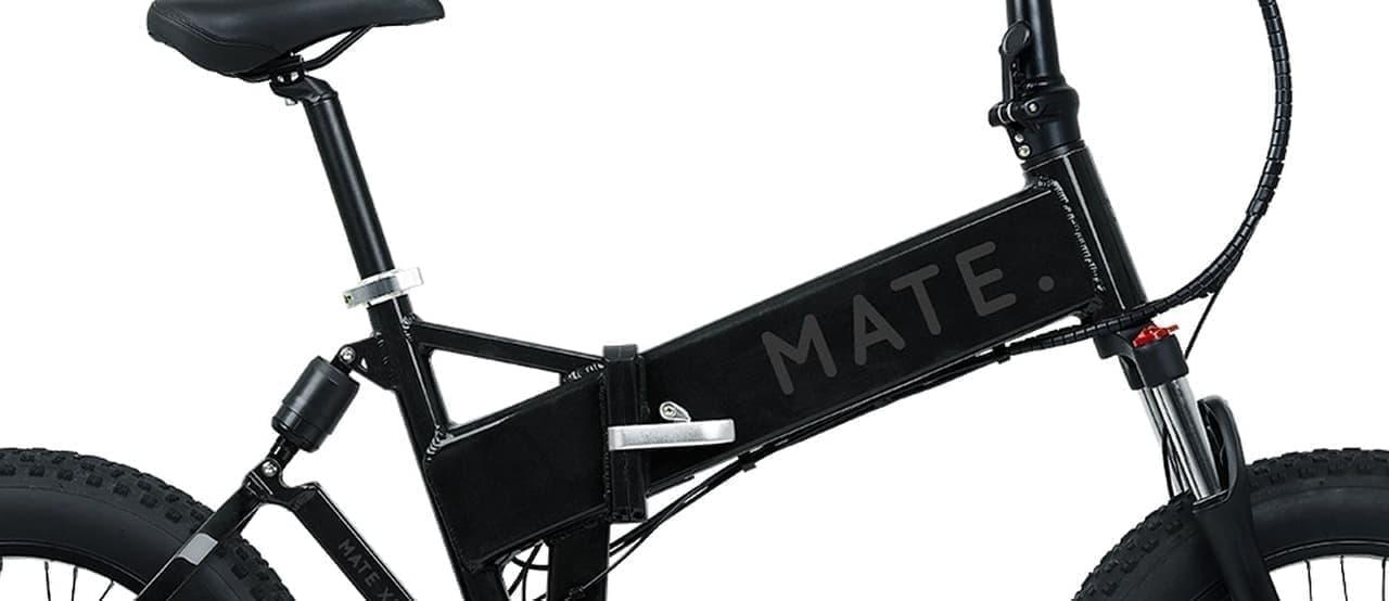 ファットタイヤを履いた電動アシスト自転車「MATE X 250」
