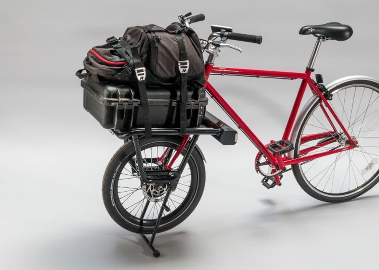 愛車を簡単に電動カーゴバイクにする「CargoDrive」