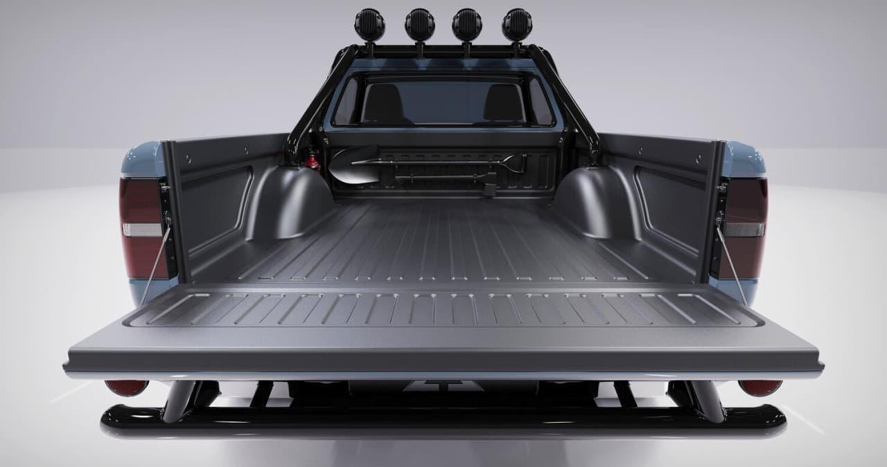 電動ピックアップ「WOLF(ウルフ)」公開 キャンピングカーに改造してみたい!