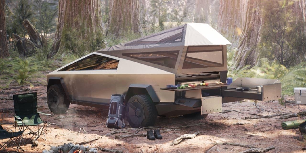 テスラ「サイバートラック」キャンピングカーカスタム例