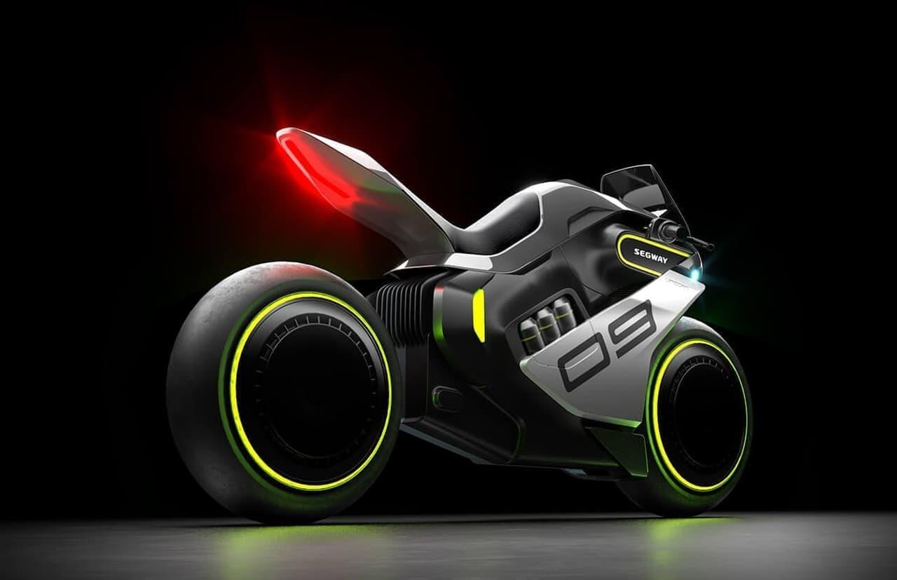 セグウェイが水素バイク「Apex H2」を開発?