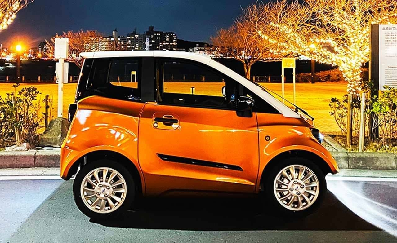 トヨタ「C+pod」とほぼ同じサイズ!だけど4人乗りでちょっと格好良い「FOMM ONE」限定販売中