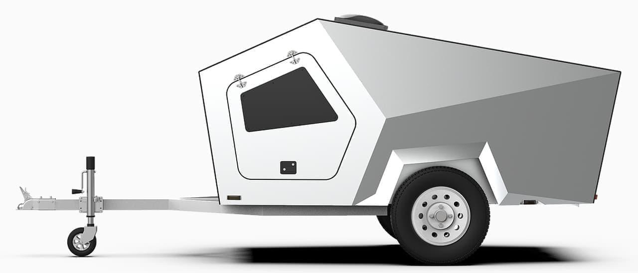 Polydropのキャンピングトレーラーに最新モデル「P17」