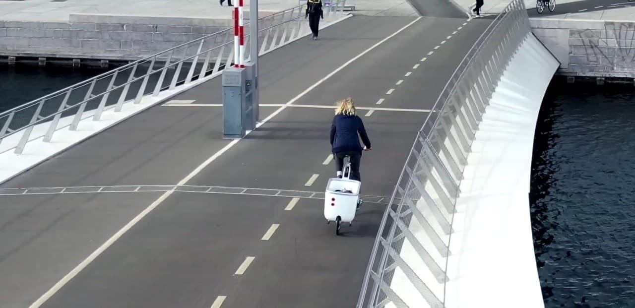 自転車を電動カーゴバイクにするBiomega「EIN」自転車側ではなくカーゴ側にモーターを搭載
