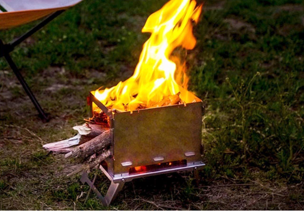 厚さ2cmの焚き火台「3FULGEAR」発売 - 「コンロ」「網焼き」「焚き火台」が1つになった3in1のキャンプギア