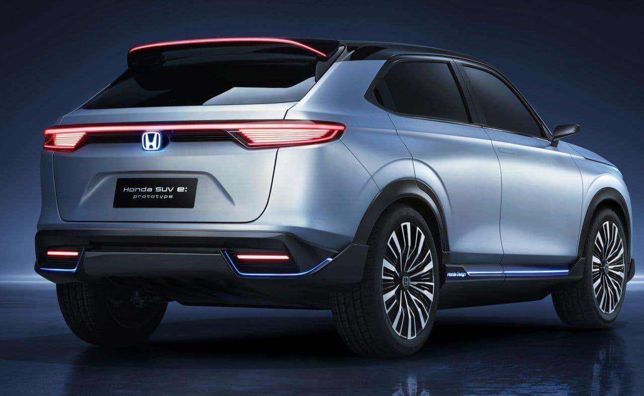 ホンダが電動SUV「Honda SUV e:prototype」を上海モーターショーで初披露