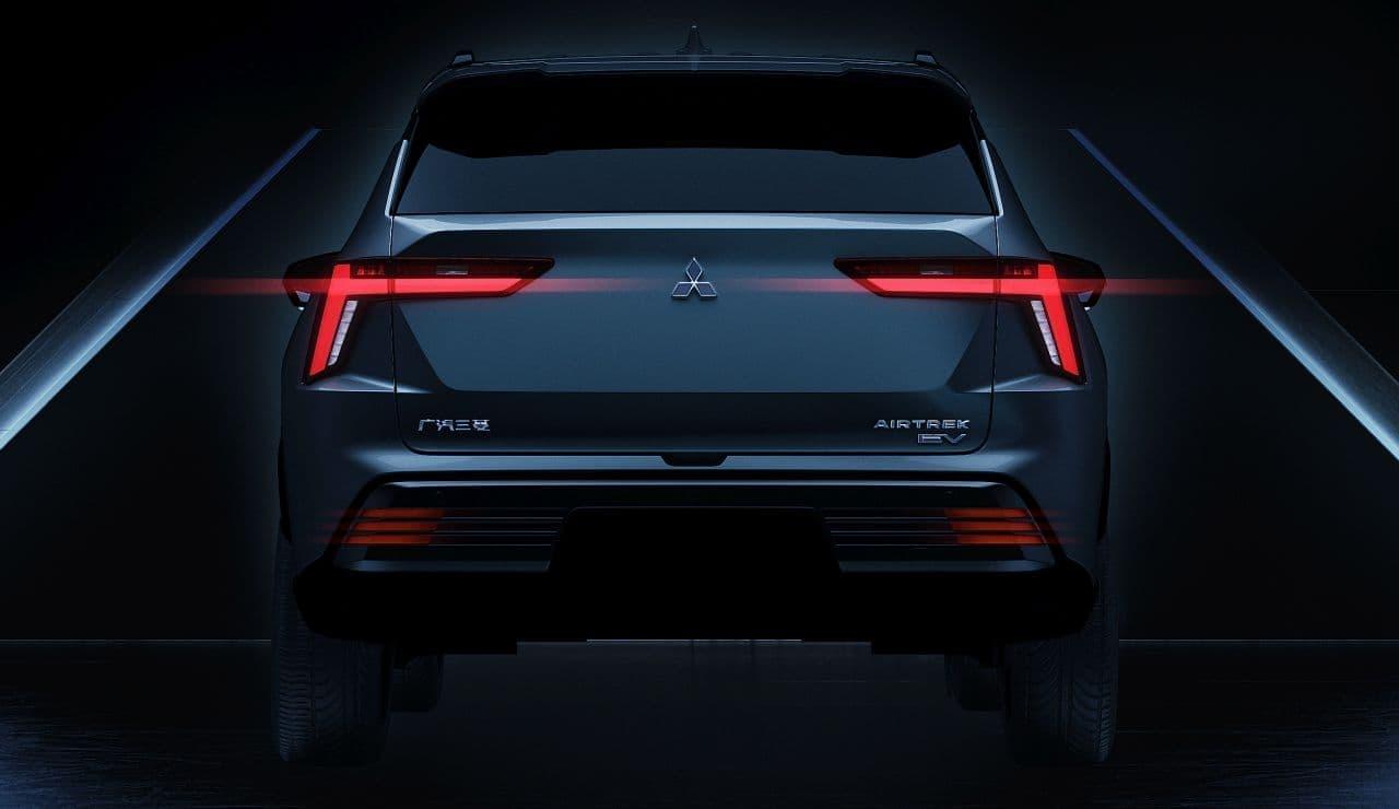 三菱が新型SUV「エアトレック」のデザインを上海モーターショーで公開