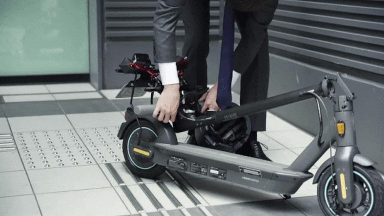 セグウェイ 公道を走れる電動キックスクーター「J-MAX」をMakuakeで先行予約販売開始