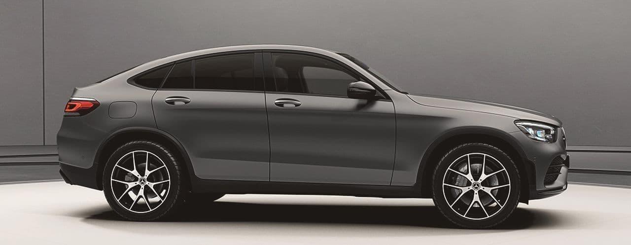 メルセデス・ベンツのSUV「GLCクーペ」に特別仕様車「マグノナイトエディション」