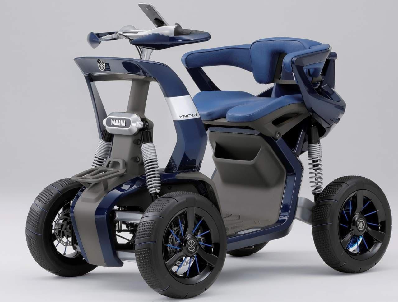 ヤマハのコンセプトモデル「YNF-01」