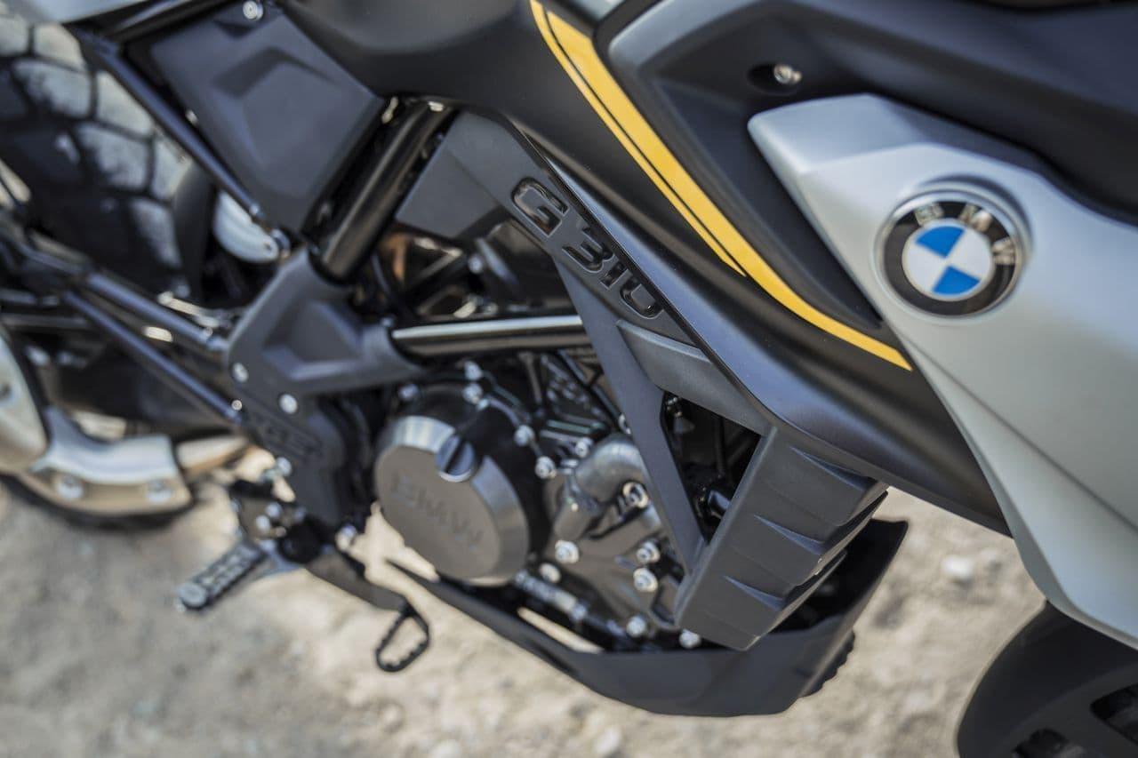 BMW 新型「G 310 GS」発売 - 単気筒エンジンを搭載したオフロード・スタイルマシン