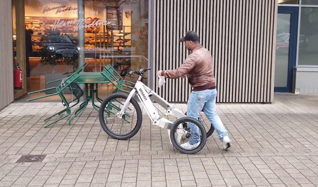 スラロームが楽しいE-Trike