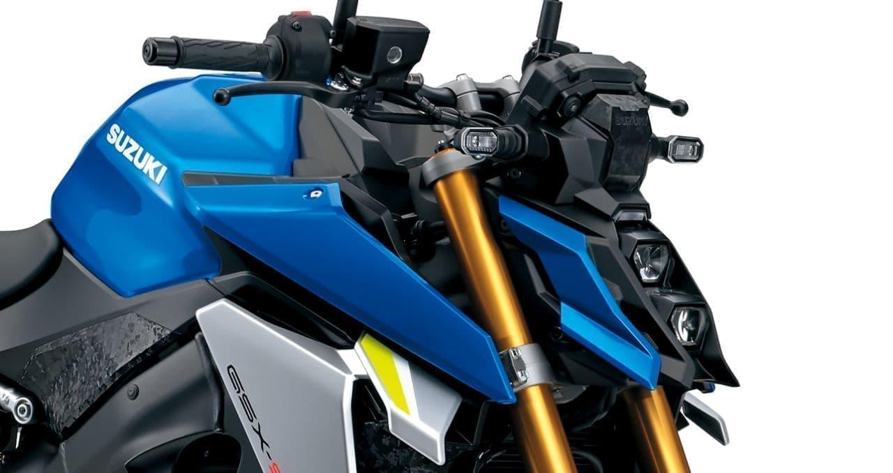 スズキ 新型「GSX-S1000」フルモデルチェンジ!
