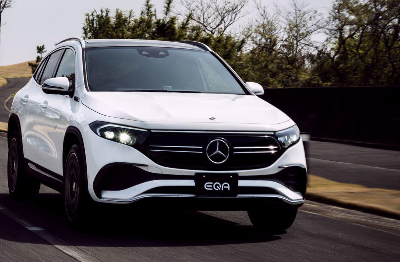 メルセデス・ベンツが電動SUV「EQA」発売