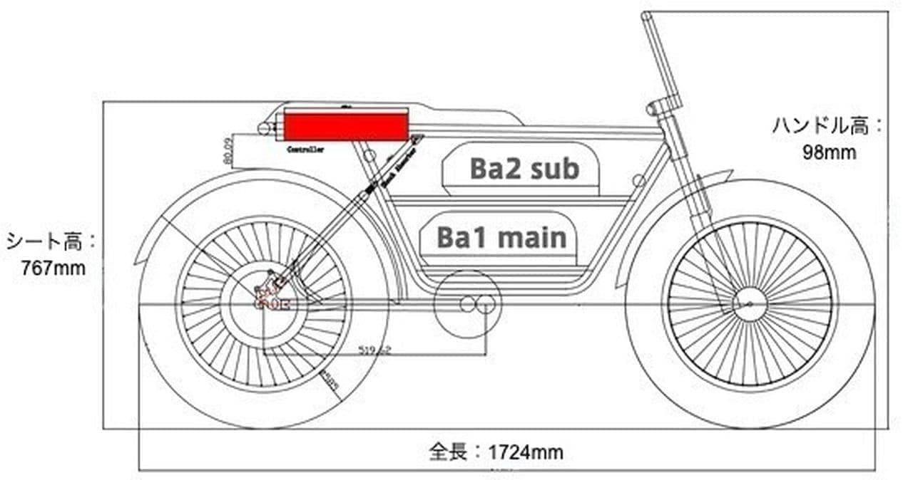 電動バイク「マーベリックS1」Makuakeに登場 ファットタイヤでどこにでも行ける!
