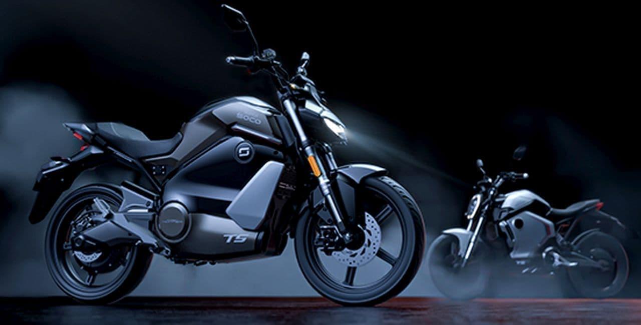 ストリートファイタースタイルの電動バイクSUPER SOCO「TS ストリートハンター」発売 ― 電動バイクブランドXEAMから