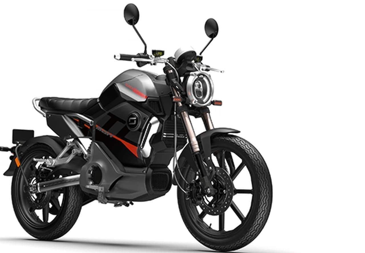 カフェレーサスタイルの電動バイク「TC MAX」に新色追加!