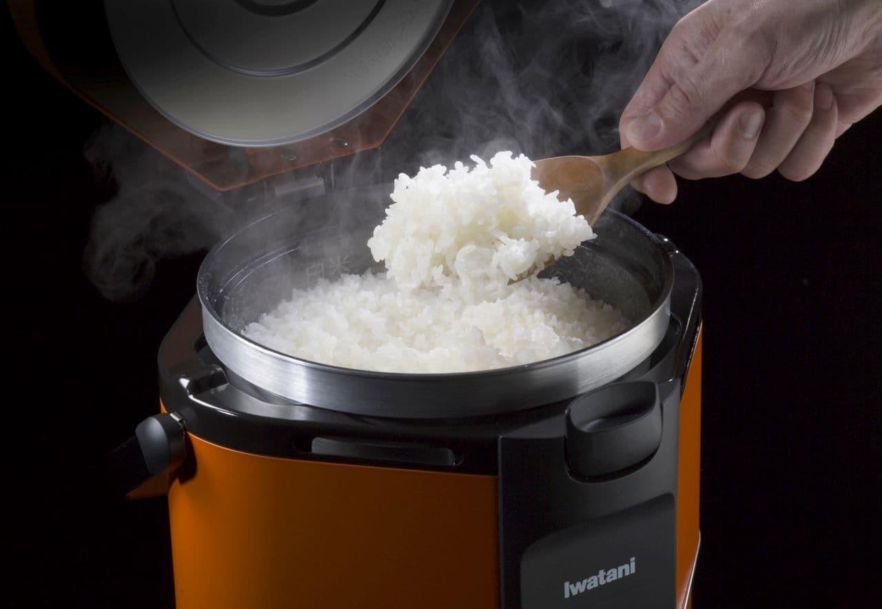 カセットガス炊飯器「HAN-go(ハンゴウ)」イワタニから発売