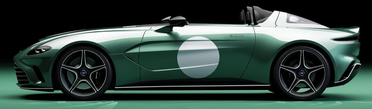 最高出力700PS! アストンマーティンV12 Speedster DBR1仕様車